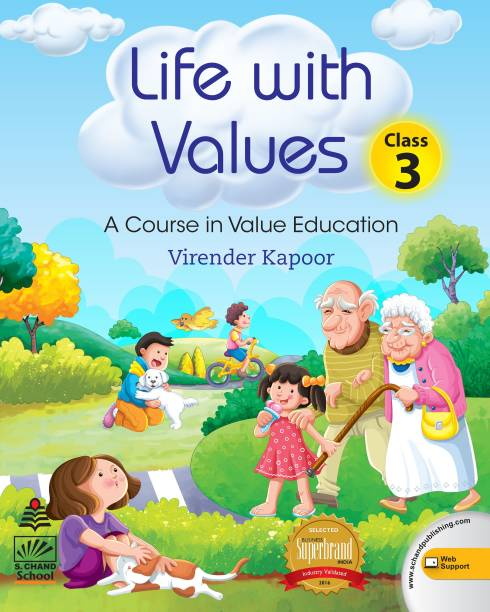 Life with Values -3 (for 2021 Exam) - A Course in Value Education First Edition