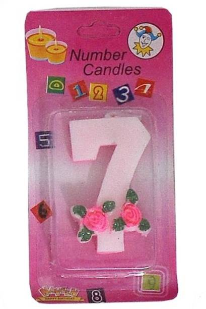 Indigo Creatives Year 7 Birthday Candle