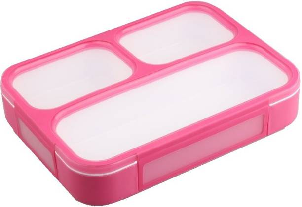 RIDDHI SIDDHI Sub-grid Energy Air Tight 3 Containers Lunch Box