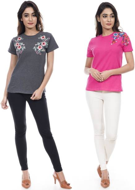 c28c20b0fd6d9 Pink Tops - Buy Pink Tops Online at Best Prices In India
