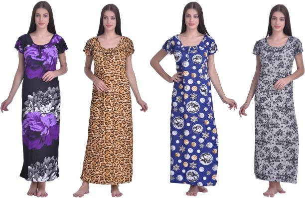Maxi Full Length Night Dresses Nighties - Buy Maxi Full Length Night ... 88e62b7376