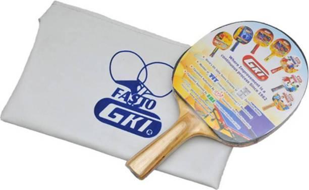 GKI Fasto In Foam Cover Multicolor Table Tennis Racquet