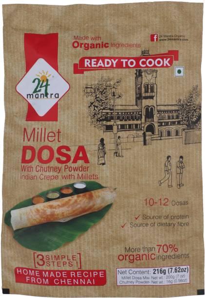 24 Mantra Organic Millet Dosa 216 g