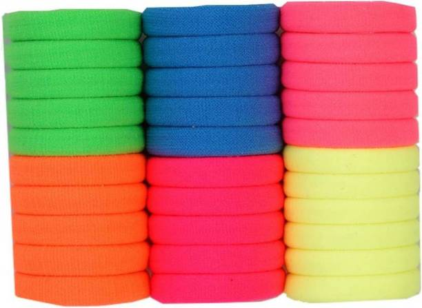 Shop   Shoppee Fine Quality Elastic colorful rubber band Hair Band bd9da25ef96