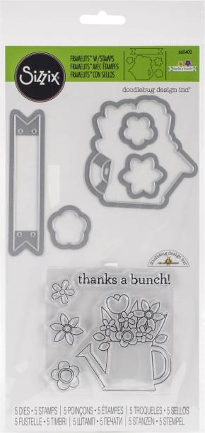 Sizzix Die Brush & Foam Pad Replacement-For 660513 Tool Crafts