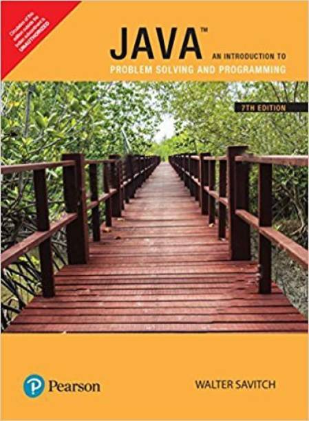Java - An Introduction to Problem Solving and Programming Seventh Edition