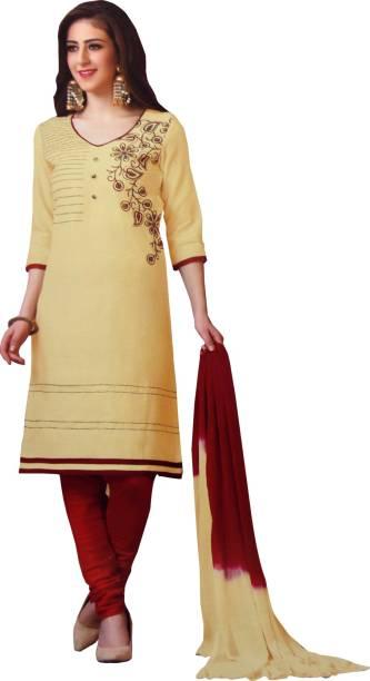 ac78d392f96 jbs suchi fashion Cotton Embroidered Salwar Suit Material