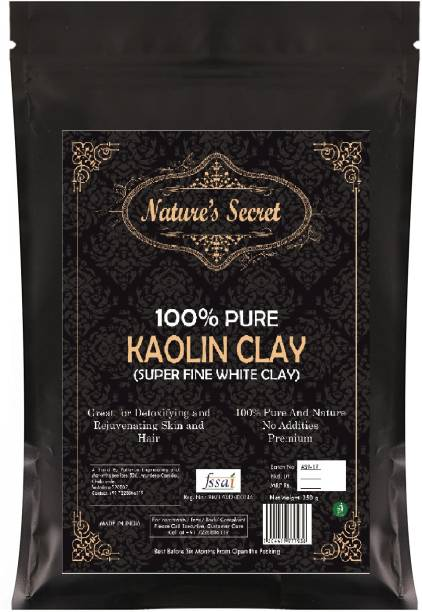 Nature's Secret White Light Kaolin Clay Powder For Skin Face Mask -450 Gm
