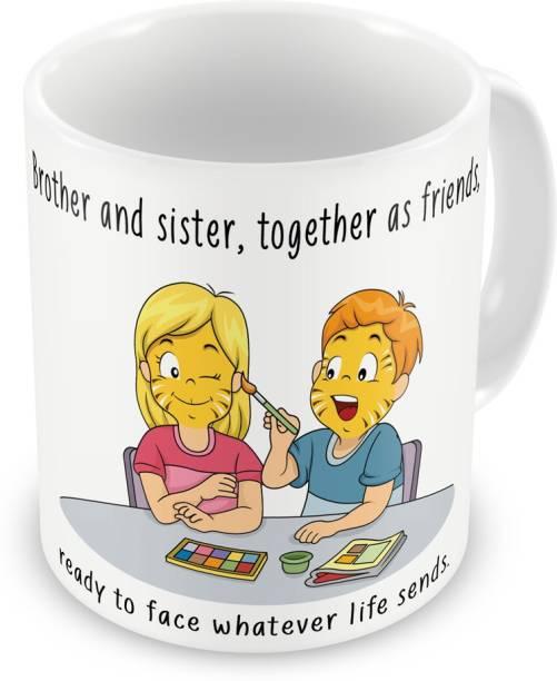 Indigifts Gift For Raksha Bandhan Rakhi Gifts Brother Sister On Bhaidooj Birthday Anniversary IDSRAF16186