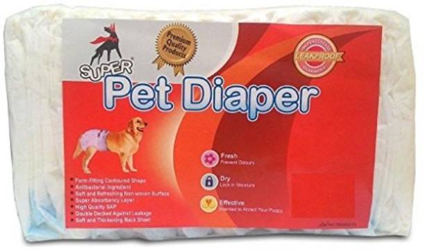 Foodie Puppies FP_DS1 Disposable Dog Diapers