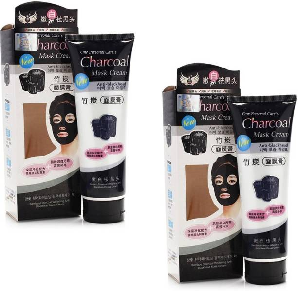 17559b0c93 One Personal Care Bamboo Charcoal Oil Control Anti Black Head Mask Cream