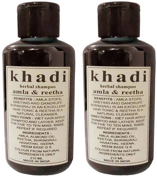 Khadi Herbal Shampoos - Buy Khadi Herbal Shampoos Online at