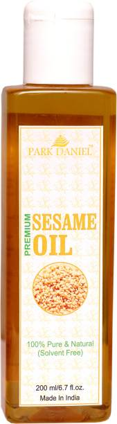 PARK DANIEL Premium Virgin Sesame Oil(200 ml) Hair Oil