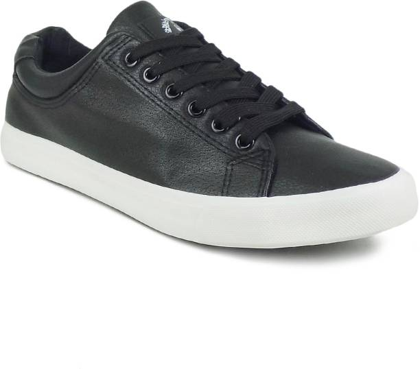418eefe687c6 Price -- High to Low. Newest First. Ripley Brooklyn Series Men Black  Leatherette Suede Casuals For Men