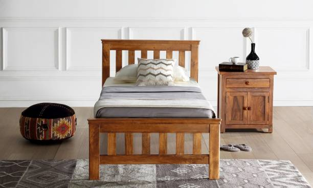 Furnspace Solid Wood Single Bed