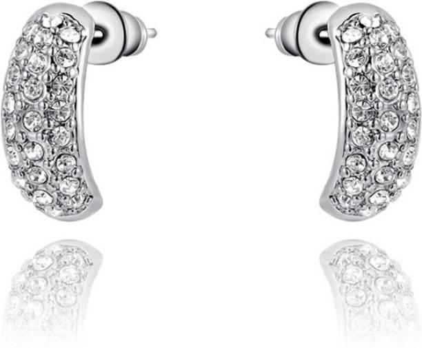 8caf6b0b7c755 Silver Earrings - Buy Silver Earrings Online At Best Prices in India ...