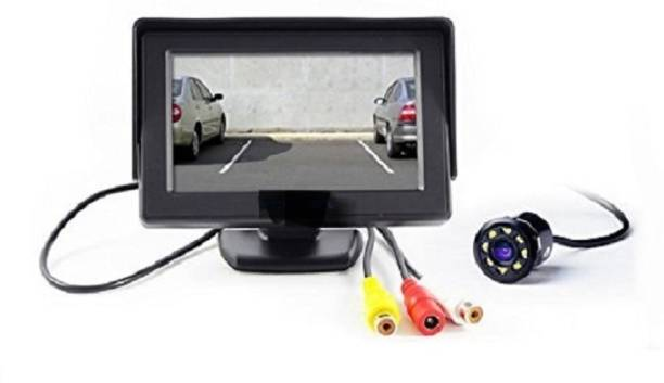 Auto Garh TFT89AM89 TFT Monitor with led Reverse Parking Camera with Good Quality for Tata Bolt Vehicle Camera System
