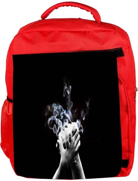 65660e0d4f36 Snoogg Eco Friendly Canvas High Five Designer Backpack Rucksack School  Travel Unisex Casual Canvas Bag Bookbag