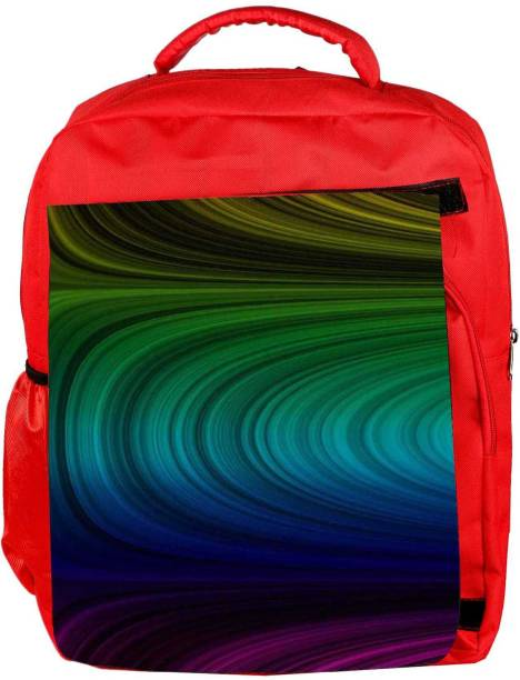 22194954d71d Snoogg Eco Friendly Canvas Power Laser Energy 2395 Backpack Rucksack School  Travel Unisex Casual Canvas Bag