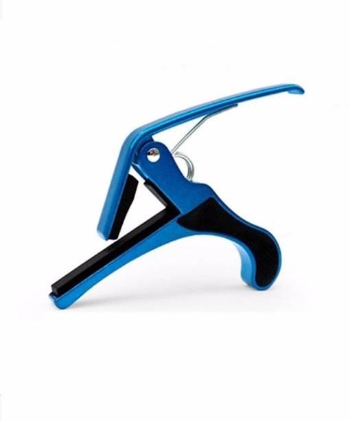 CRUSADER BLUE CAPO Spring Guitar Capo