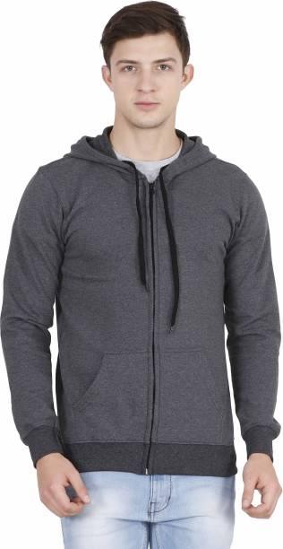 FLEXIMAA Round Neck Solid Men Pullover