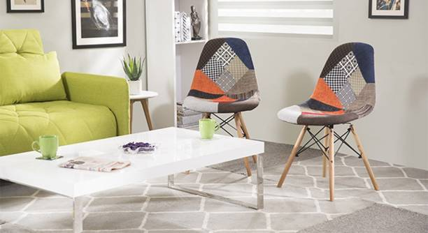 Urban Ladder DSW Side Replica Engineered Wood Living Room Chair