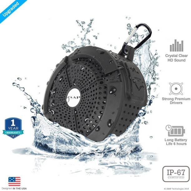 Zaap ZAAP007 3 W Portable Bluetooth Speaker