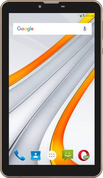 Swipe Blaze 4G VoLTE 1 GB RAM 8 GB ROM 7 inch with Wi-Fi+4G Tablet (Gold)