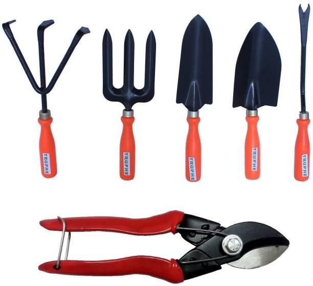 TRUPHE Gardening Tools Set with Scissor Garden Tool Kit