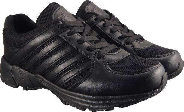 Action Synergy Men S Srh0065 Black Phylon Sole Sports Running Shoes For