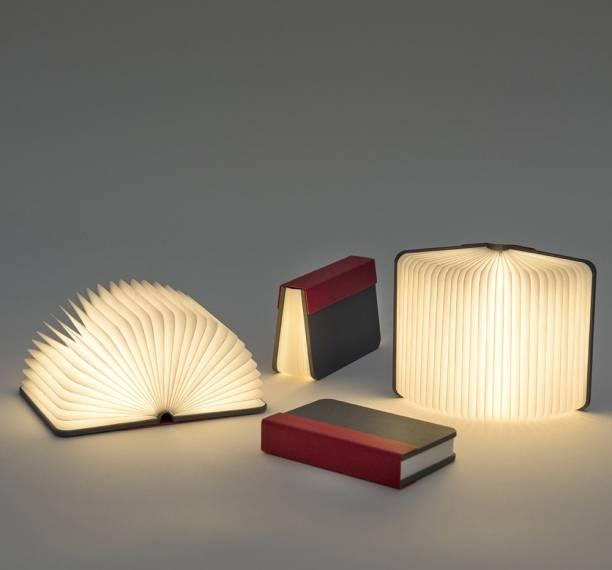 SS Magic Mini Open Book Lamp Table Lamp