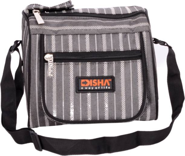 N Disha Trendy Stylish Lunch box Bag insulated With Two Compartments cc09c9c81b813