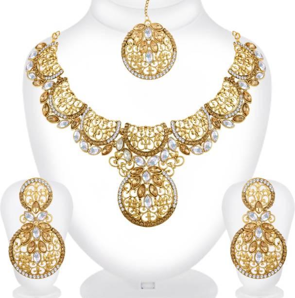Spargz Copper Jewel Set