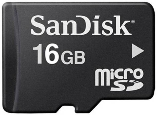 8ac4d11d73f SanDisk Memory Card 16 GB MicroSD Card Class 10 24 MB s Memory Card
