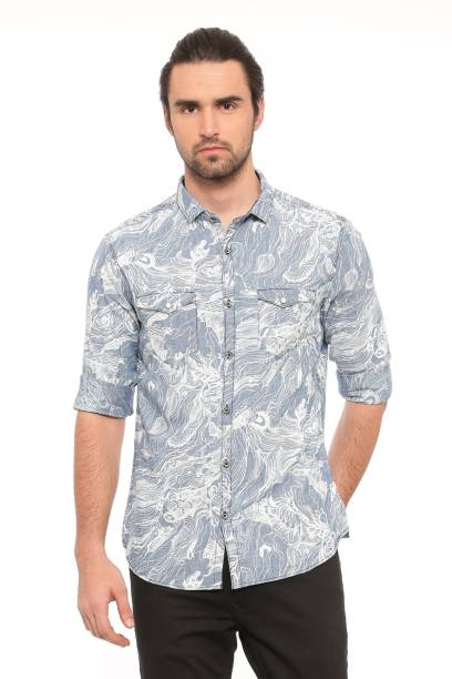 d5e7aadd72 Denim Shirts - Buy Denim Shirts Online at Best Prices In India ...