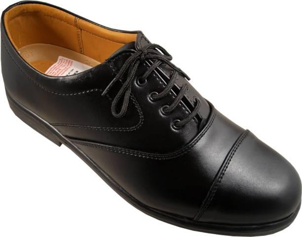 Action Black Fashion Line Me432 Lace Up Shoes For Men
