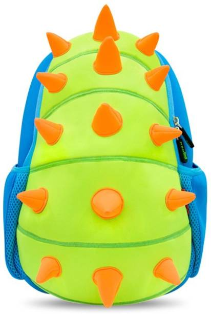5110cf73ecf3 Nohoo Lightweight 3d-Cartoon Green Raptor Backpack for Kids Waterproof  Backpack