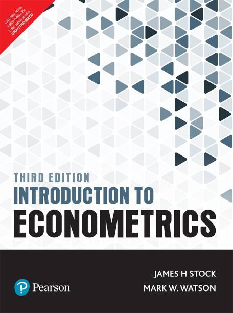 Introduction to Econometrics by Pearson 3rd Editon