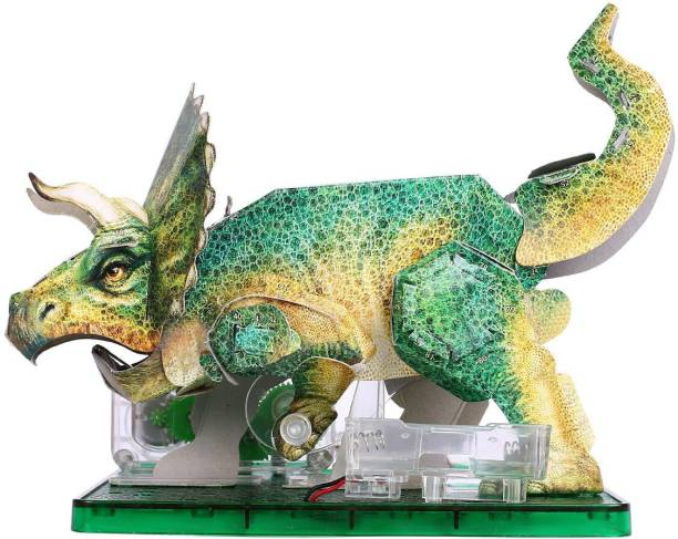 Amazing Toys Paper Activities Triceratops