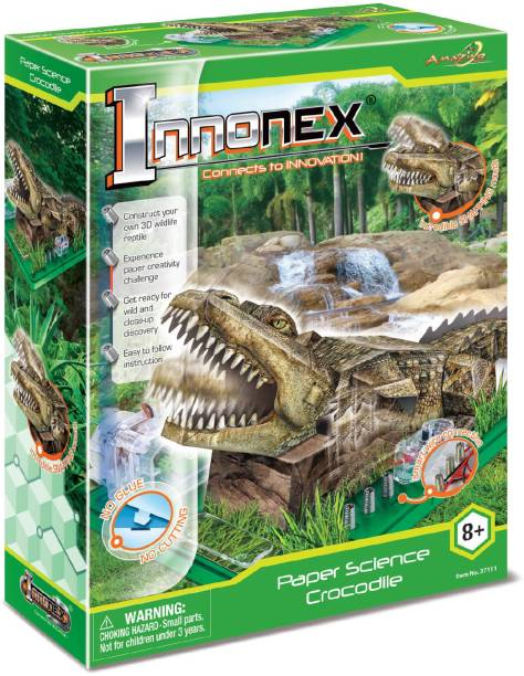 Amazing Toys Paper Activities Crocodile