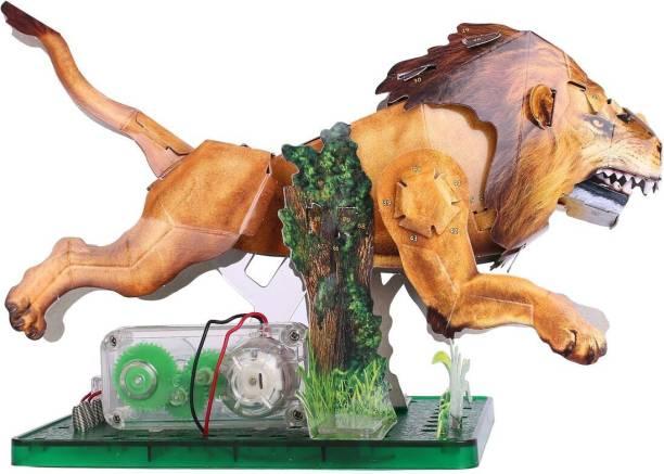 Amazing Toys Paper Activities Lion