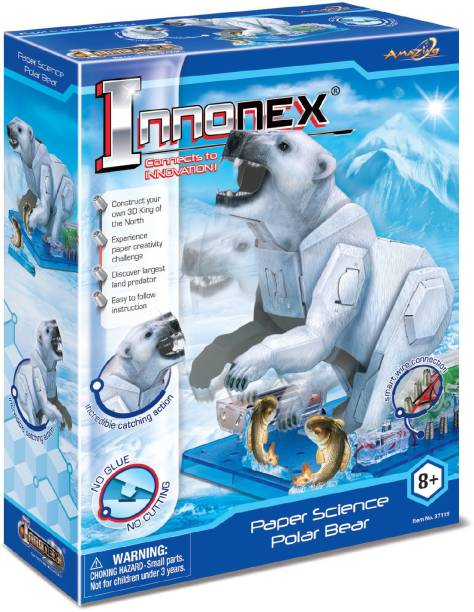 Amazing Toys Paper Activities Polar Beer