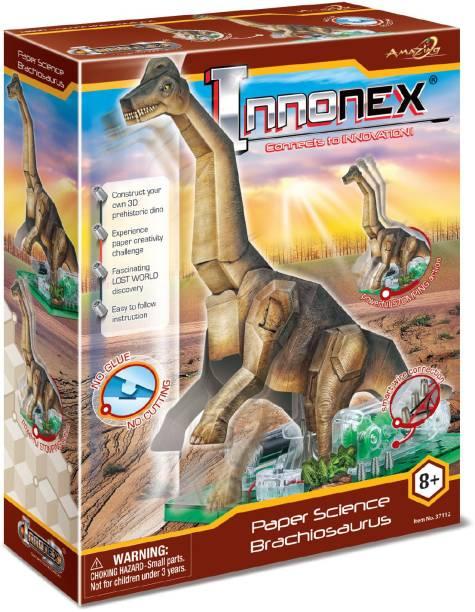 Amazing Toys Paper Activities Brachiosaurus