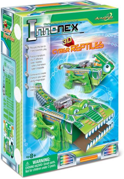 Amazing Toys 3D Cyber Reptiles