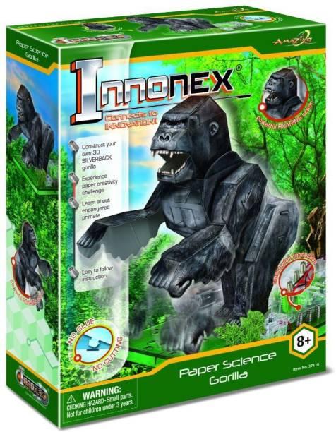 Amazing Toys Paper Activities Gorilla