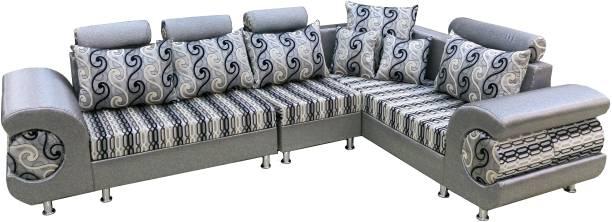 Amey 330 Fabric 5 Seater  Sofa