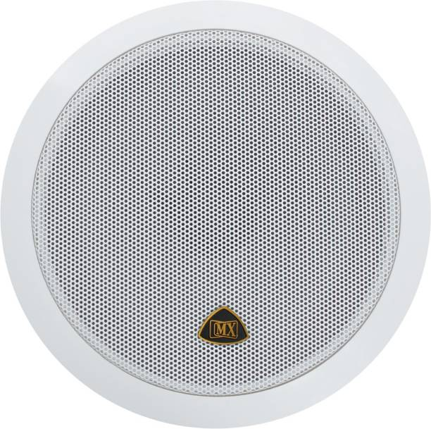 MX 5.25 Inch Weather Proof 2-Way In-Ceiling / In-Wall Stereo Ceiling Speakers Home Audio Speaker 3725 Indoor PA System
