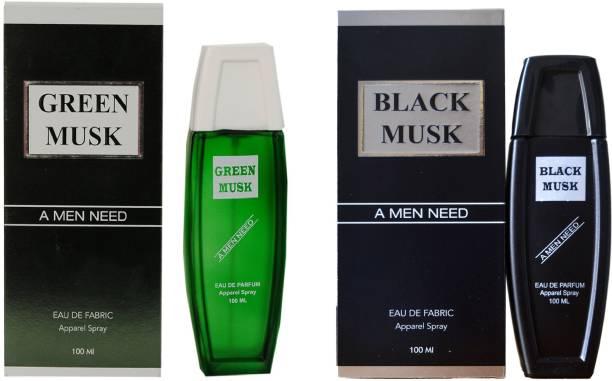 RAMCO Exotic Green and Black Musk Combo Perfume (100ml Each) Eau de Parfum  -  200 ml