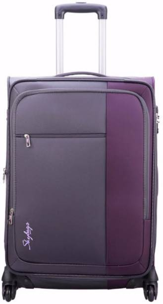 d6d749d0341 Skybags CUBE 4W EXP STROLLY 78 PURPLE Expandable Check-in Luggage - 31 inch