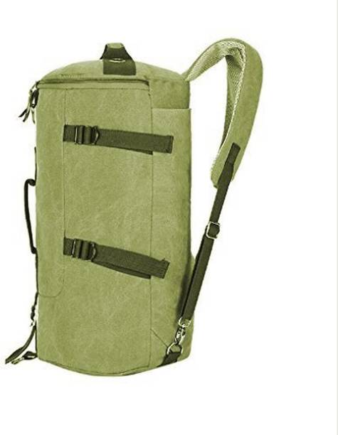 4e3774ba861d Styleys (Expandable) Travel Duffle Bag Unisex Gym Bag Canvas Sling Bags ( Green)